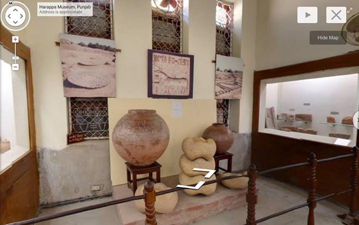 Vignette de l'actualité Visite en 3D du musée Harappéen de Sahiwal
