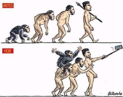 Vignette de l'actualité Antes/Hoje #humor