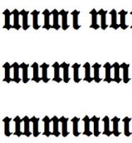 Vignette de l'actualité Le <a class='ecrit' href='?art=8'>latin</a> gothique est-il pire que les cursives russes&nbsp?
