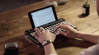 Vignette de l'actualité Un clavier de machine à écrire bluetooth
