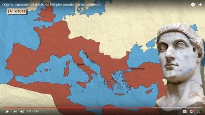 Vignette de l'actualité Origine, expansion et déclin de l'Empire romain