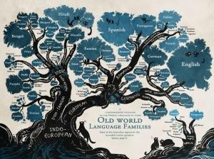 Vignette de l'actualité Sublime infographie de la généalogie des langues