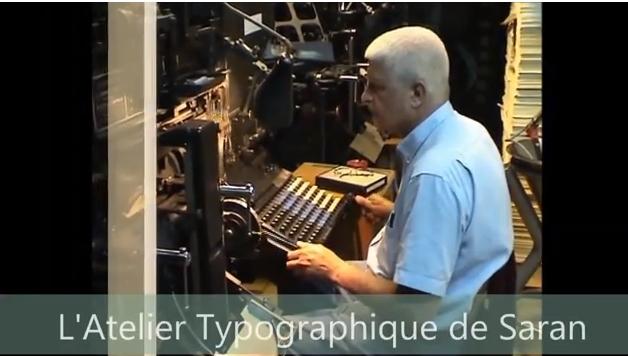 Vignette de l'actualité Fonctionnement de la Linotype