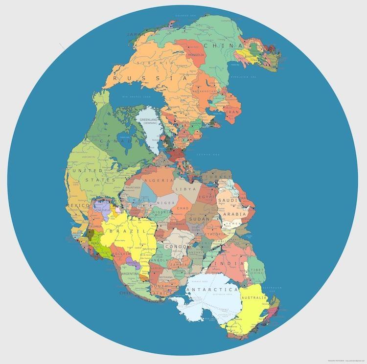 Vignette de l'actualité Quelle serait la carte si la Pangée existait encore ?