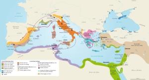Vignette de l'actualité Le bassin méditerranéen au IIIe siècle avant JC