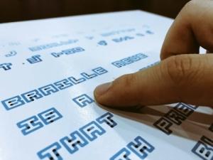 Vignette de l'actualité L'écriture Braille Neue