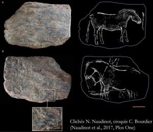 Vignette de l'actualité Du nouveau à l'Ouest: l'art paléolithique du Rocher de l'Impératrice (Plougastel-Daoulas, Finistère)