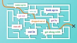 Vignette de l'actualité Découvrez les phrasal verbs (verbes à particules en anglais)